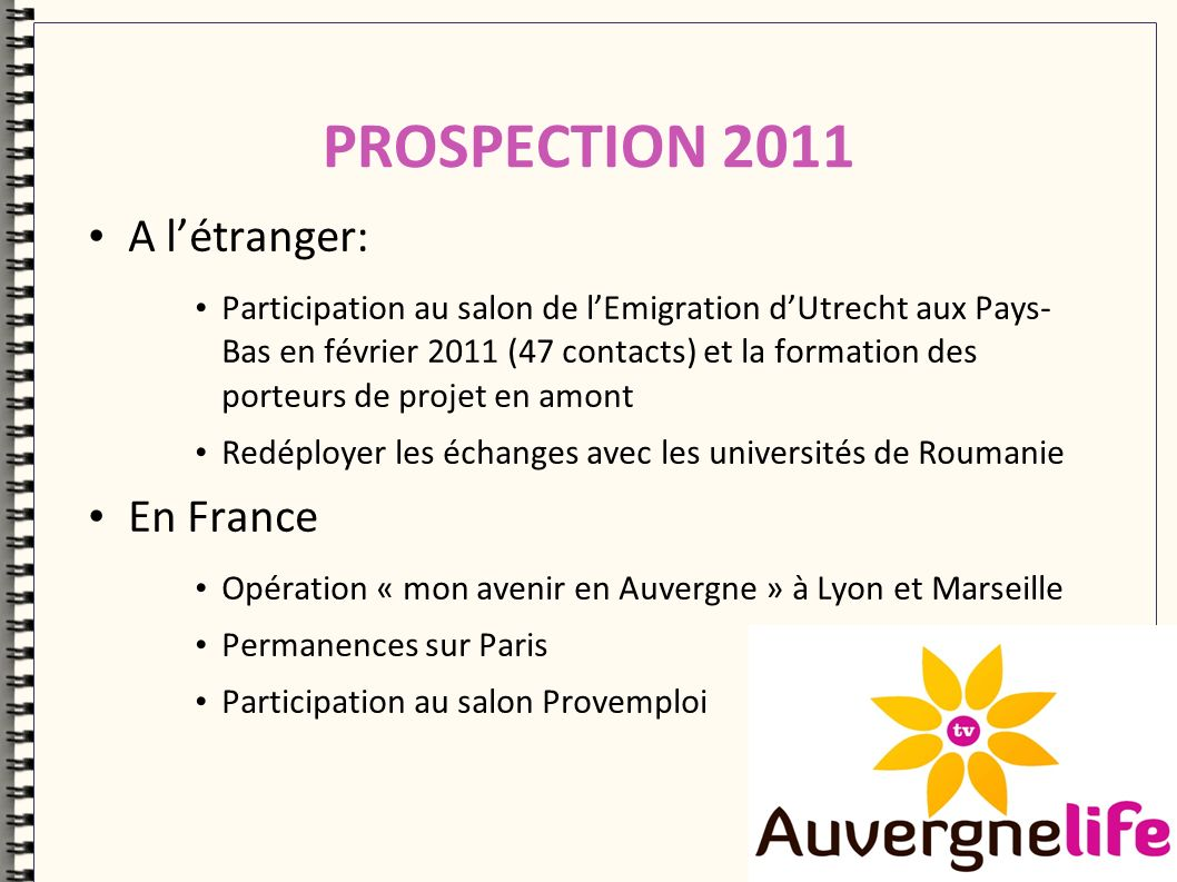Un site à lattention des professionnels du développement territorial Auvergnepro.com
