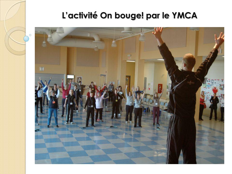 Lactivité On bouge! par le YMCA
