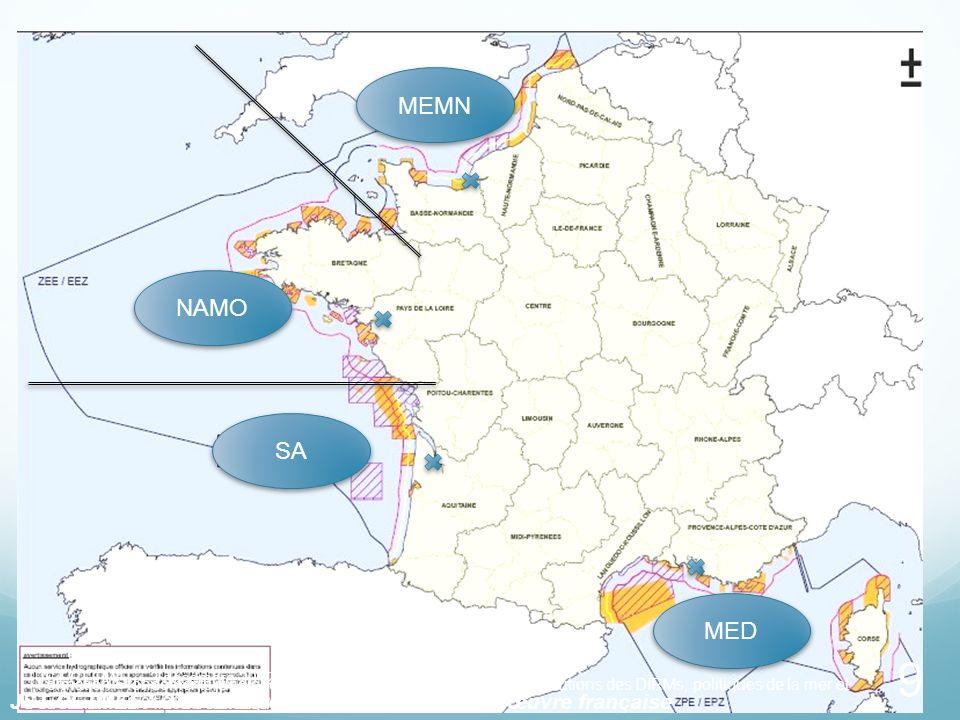 9 MED MEMN NAMO SA Formation « fondements juridiques relatifs à lenvironnement marin - attributions des DIRMs, politiques de la mer et du littoral – 1