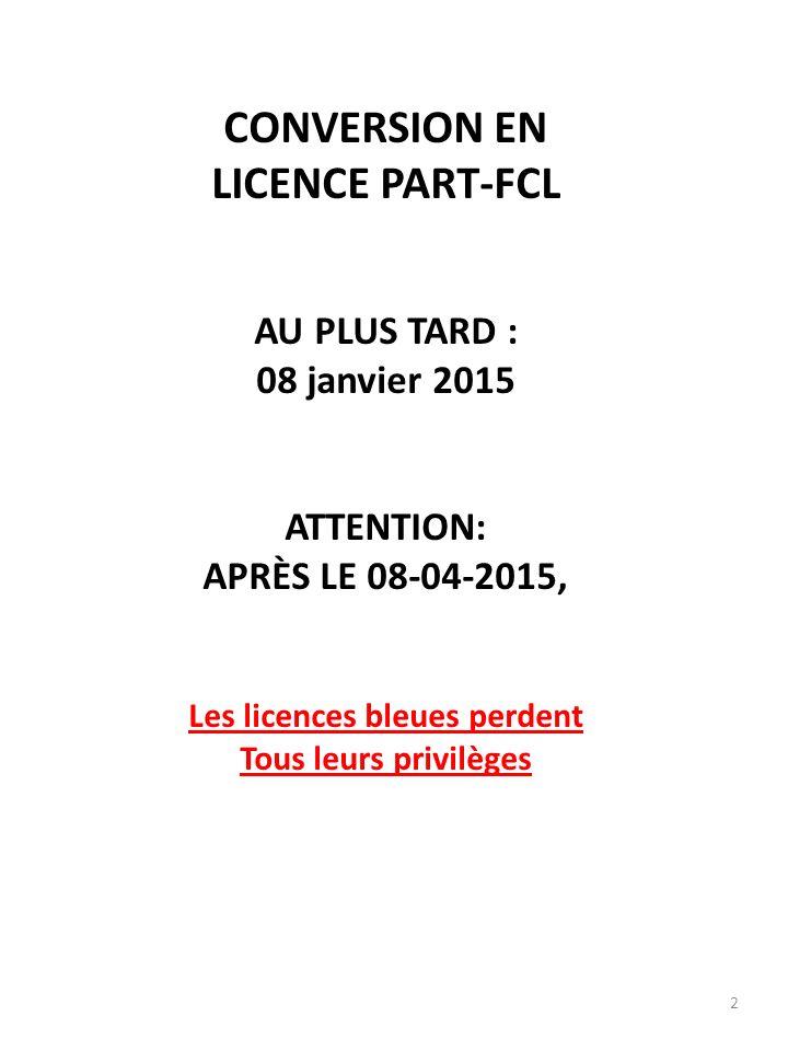 3 VOTRE CHOIX: LAPL(S) Light Aircraft Pilot License (Sailplane) Certificat médical LAPL – MED OU SPL Sailplane Pilot License Certificat classe 2 OACI