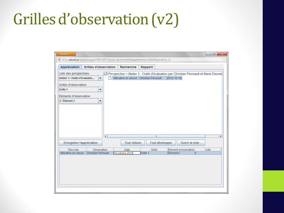 Grilles dobservation (v2)