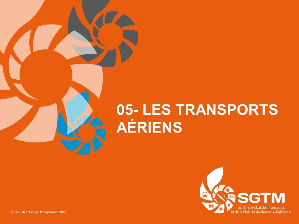 05- LES TRANSPORTS AÉRIENS Comité de Pilotage 13 septembre 2013