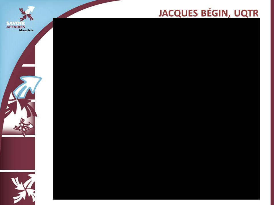 JACQUES BÉGIN, UQTR