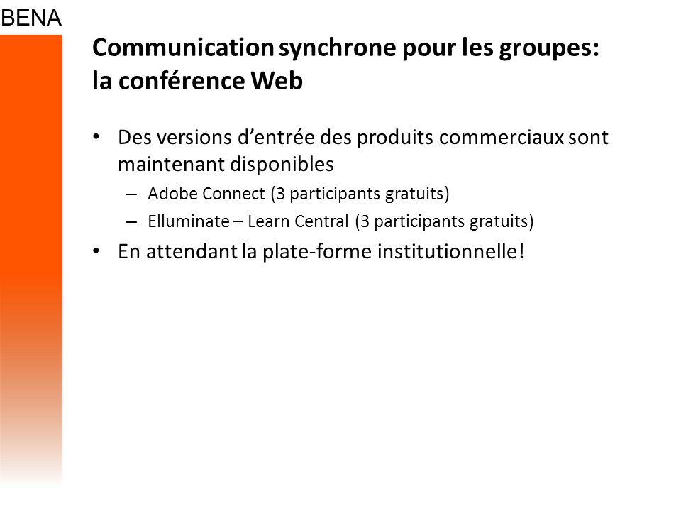Communication synchrone pour les groupes: la conférence Web Des versions dentrée des produits commerciaux sont maintenant disponibles – Adobe Connect