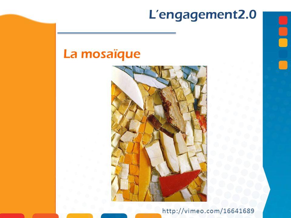 La mosaïque Lengagement2.0 http://vimeo.com/16641689