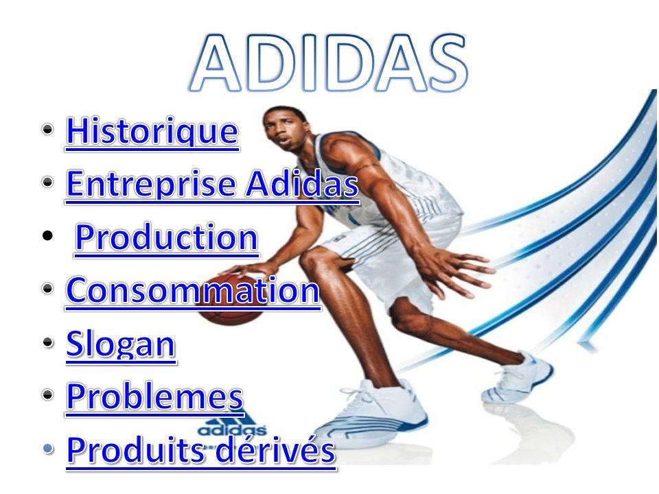 -La marque Adidas est inventée pas Adol Dassler qui lui donne son nom en 1949.