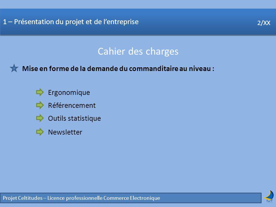 Concurrence Projet Celtitudes – Licence professionnelle Commerce Electronique 2/XX 5 – Nouvelles fonctionnalités Quapportent-elles .