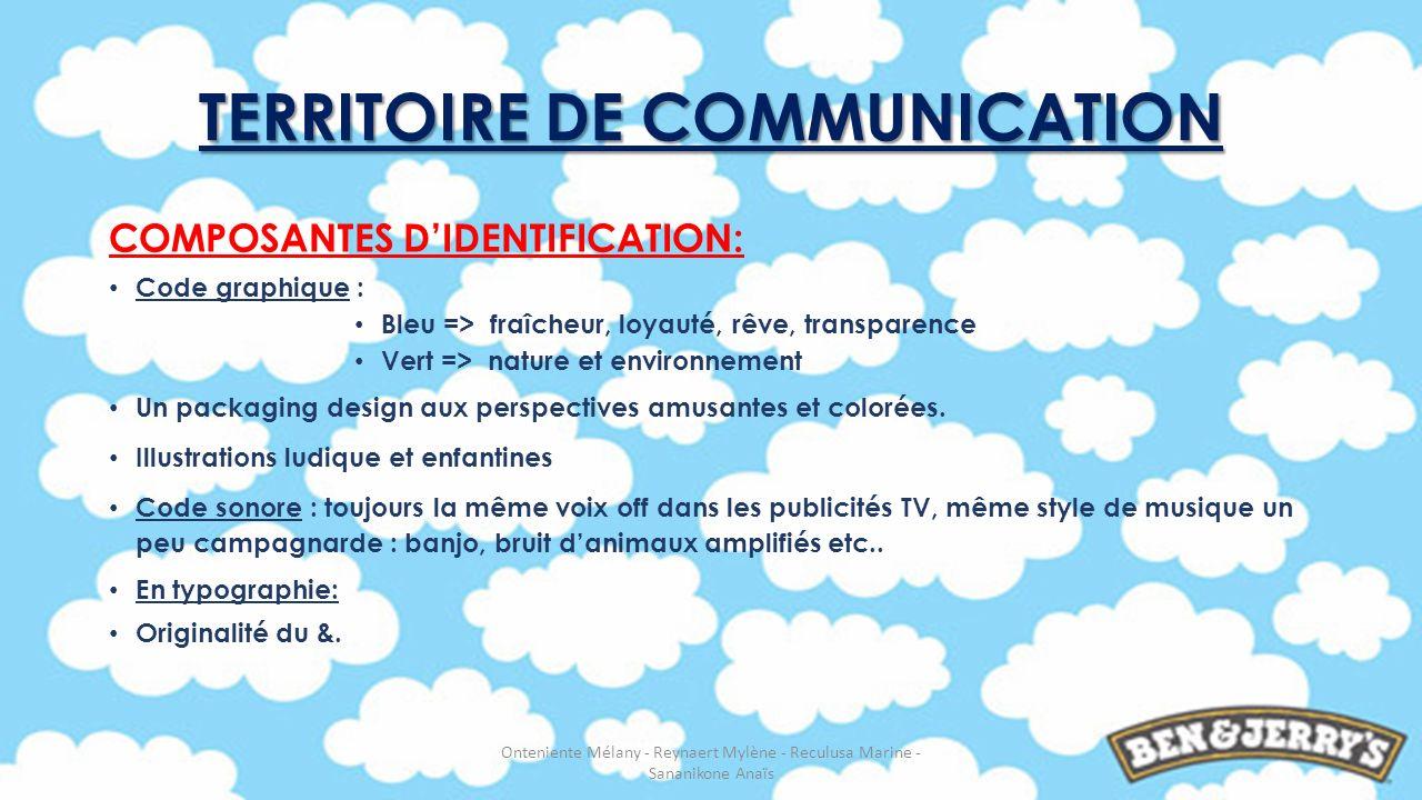 COMPOSANTES DIDENTIFICATION: Code graphique : Bleu => fraîcheur, loyauté, rêve, transparence Vert => nature et environnement Un packaging design aux p
