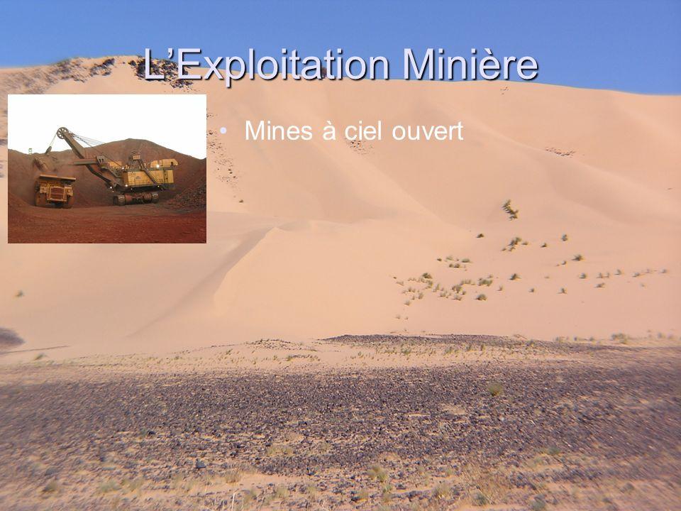 LExploitation Minière Mines à ciel ouvert