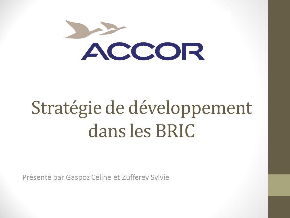 Stratégie de développement dans les BRIC Présenté par Gaspoz Céline et Zufferey Sylvie
