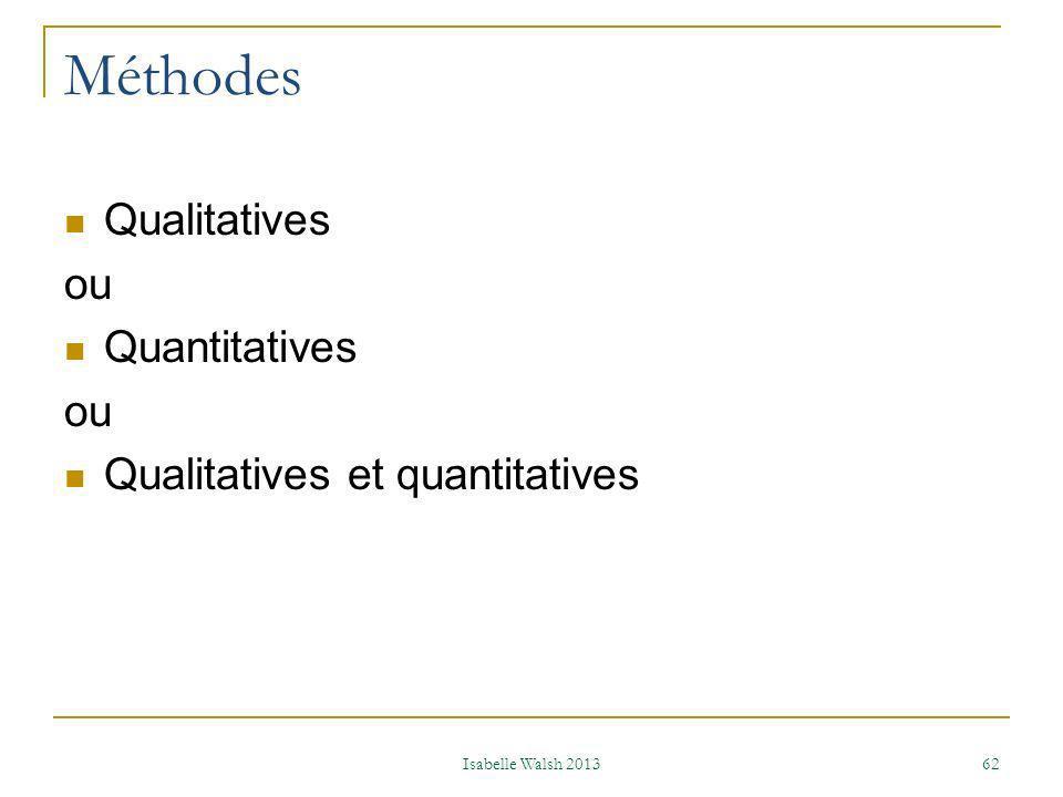 Lire Wolstfinkel et al., 2011 et résumer les éléments essentiels Isabelle Walsh 2013 63