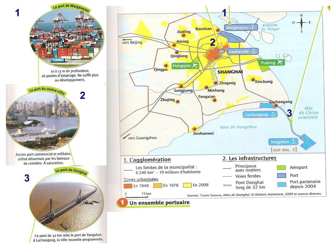 III) Shanghai et le monde A) La façade maritime asiatique