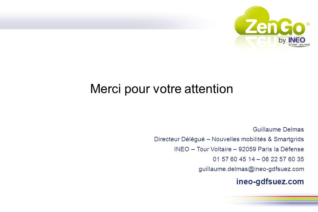 Guillaume Delmas Directeur Délégué – Nouvelles mobilités & Smartgrids INEO – Tour Voltaire – 92059 Paris la Défense 01 57 60 45 14 – 06 22 57 60 35 gu