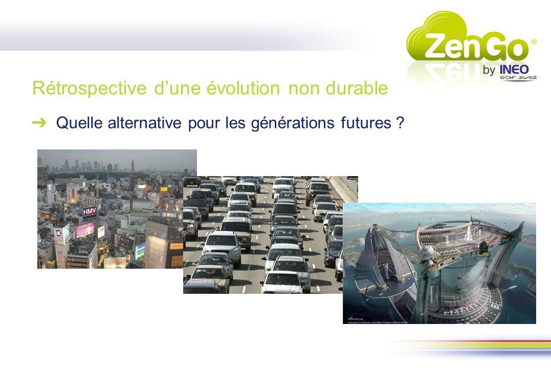 Rétrospective dune évolution non durable Quelle alternative pour les générations futures ?