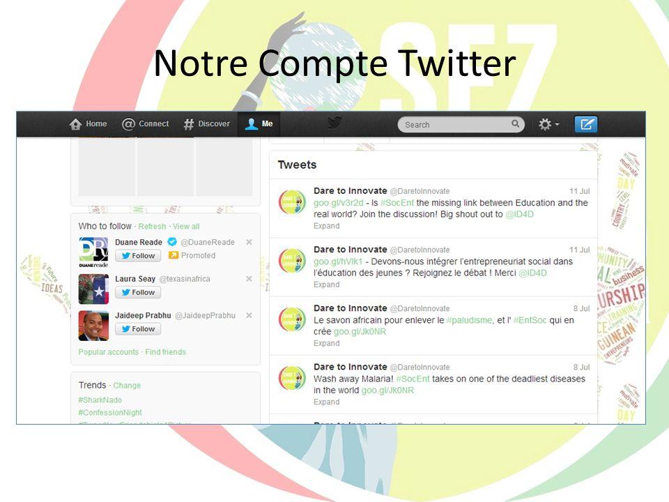 www.OsezInnover.com Notre Blog Le Menu À travers notre site, on peut accéder beaucoup de ressources.