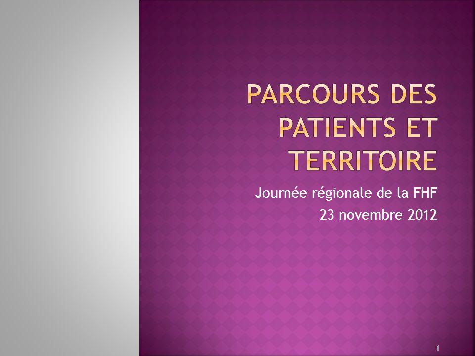 Journée régionale de la FHF 23 novembre 2012 1