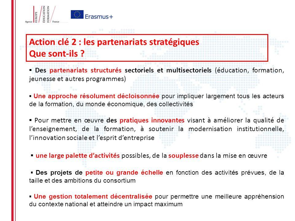 Action clé 2 : les partenariats stratégiques Que sont-ils .