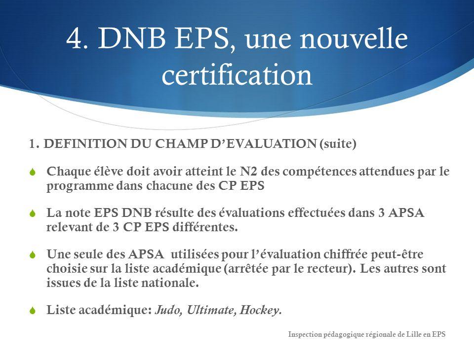 4.DNB EPS, une nouvelle certification 1.