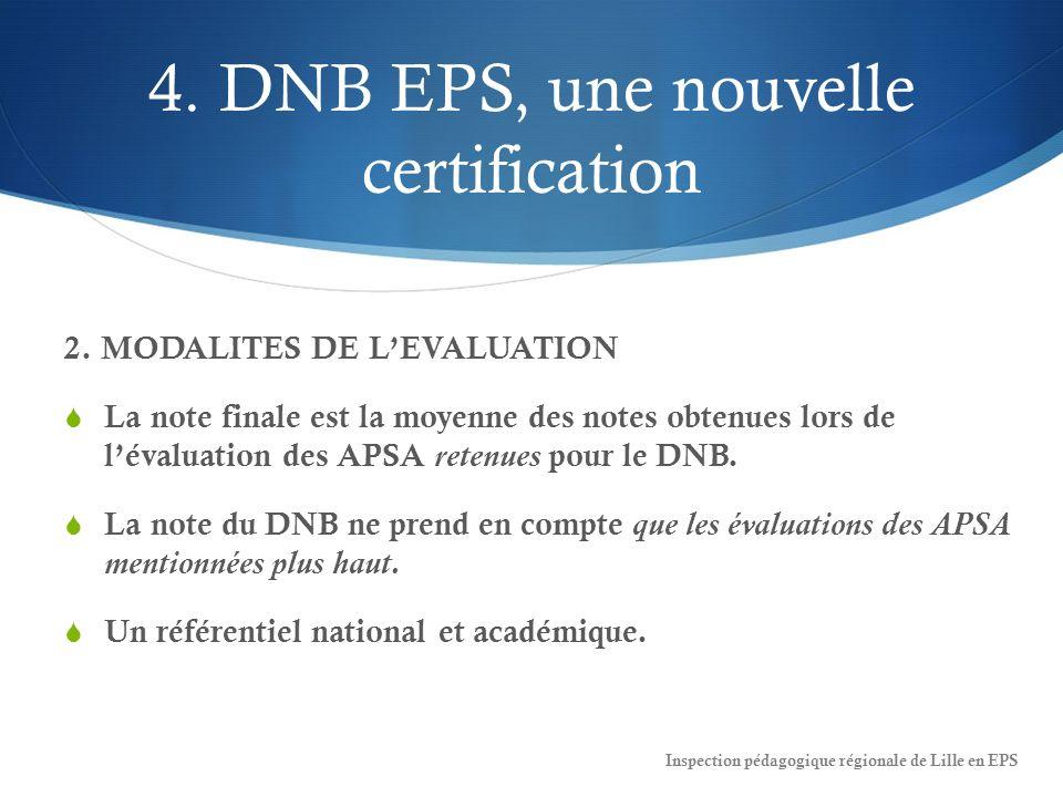 4.DNB EPS, une nouvelle certification 2.