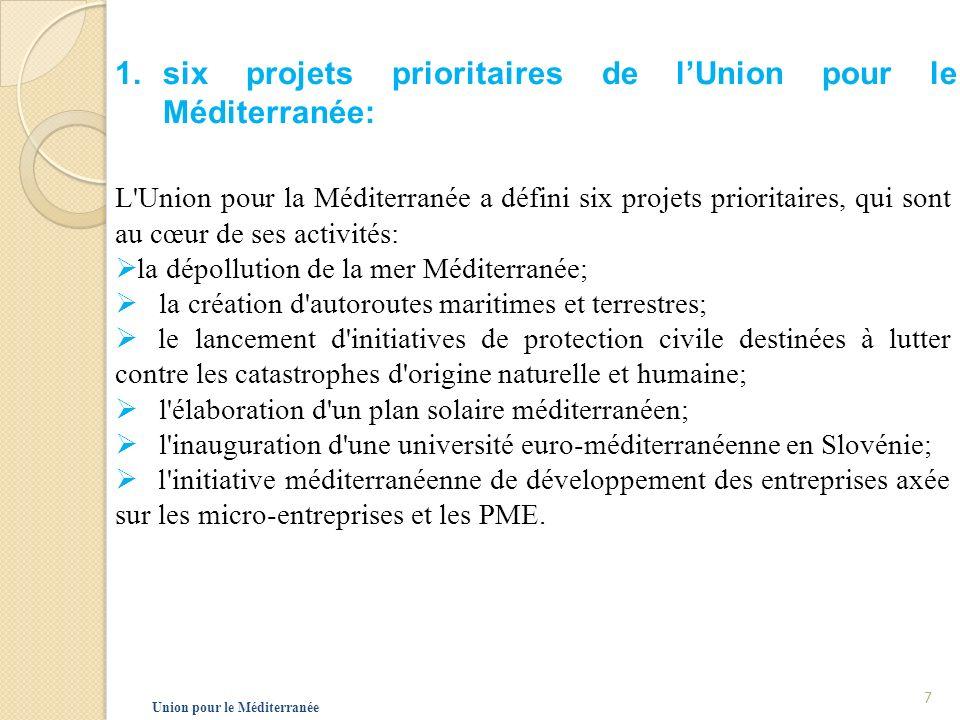 2.Réseau Innovation Euromed En janvier 2009, Nicolas Sarkozy investit Pierre Laffitte d une mission pour la création d un réseau spécifique de développement de l innovation en Euro-méditerranée dune durée de deux ans qui à la mission: Favoriser la coopération avec les membres de l Union pour la Méditerranée, d aider à la création de nouveaux pôles en Méditerranée autour des axes prioritaires, Union pour le Méditerranée 8
