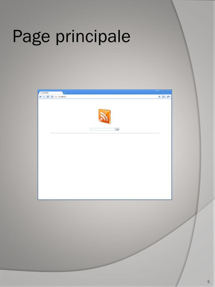 Page principale 6