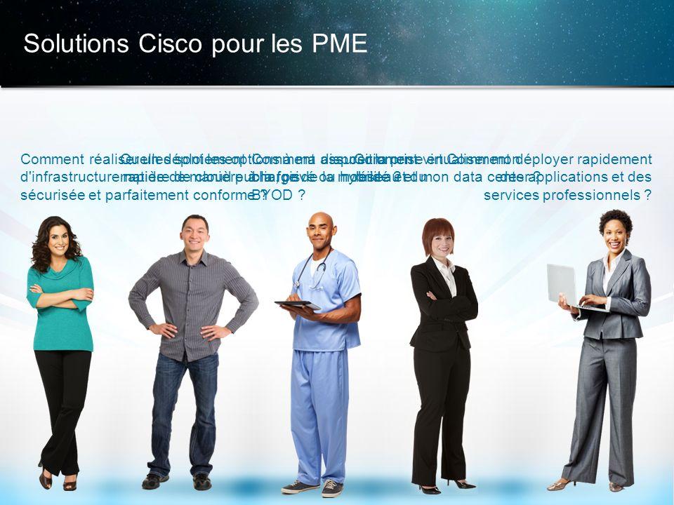 © 2013 Cisco et/ou ses filiales. Tous droits réservés. Informations confidentielles de Cisco 13 Solutions Cisco pour les PME Comment déployer rapideme