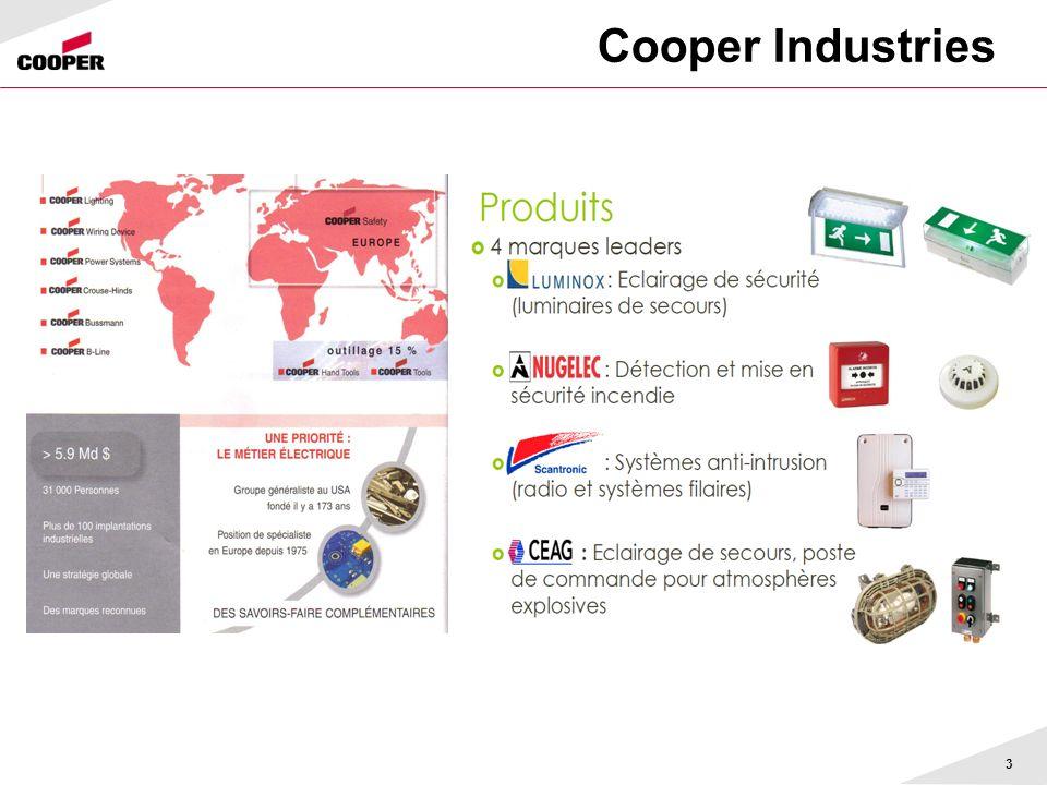 Cooper Industries 3