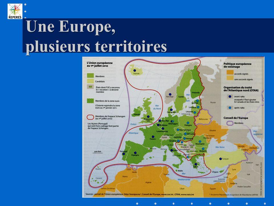 Une Europe, plusieurs territoires
