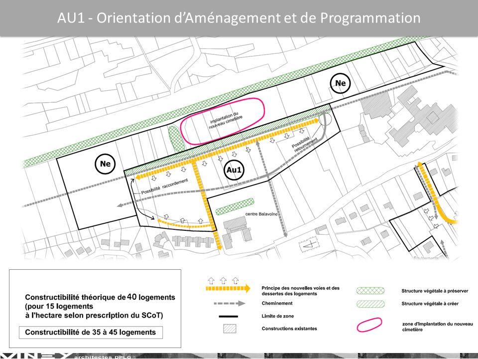 AU1 - Orientation dAménagement et de Programmation 40