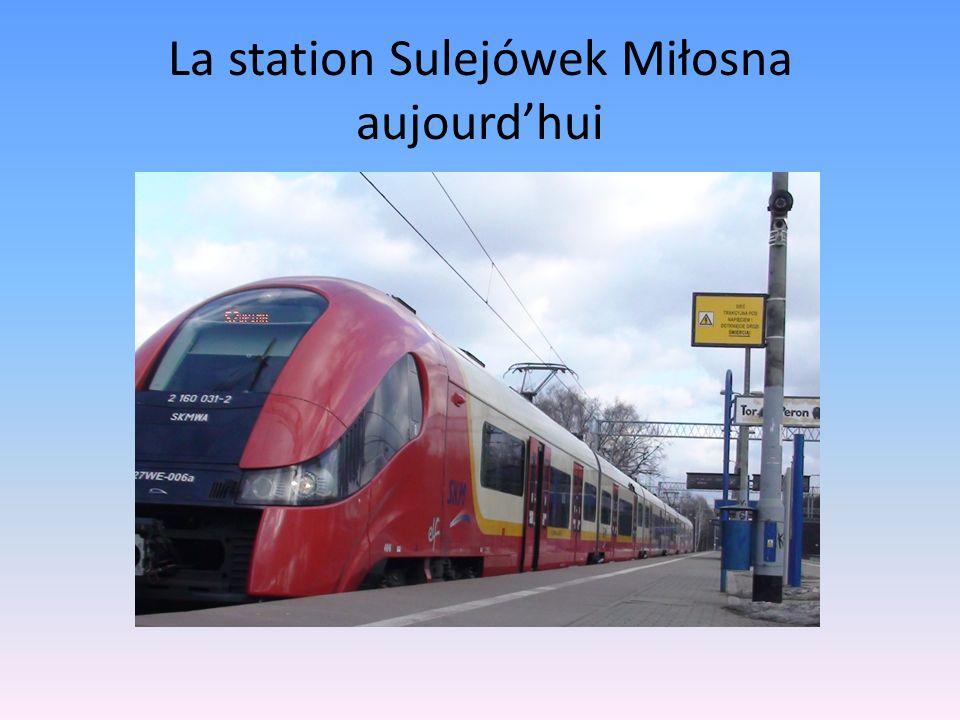 La station Sulejówek Miłosna aujourdhui