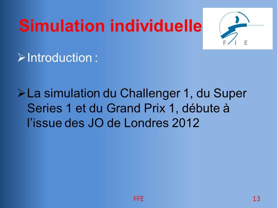 Simulation individuelle Introduction : La simulation du Challenger 1, du Super Series 1 et du Grand Prix 1, débute à lissue des JO de Londres 2012 13FFE