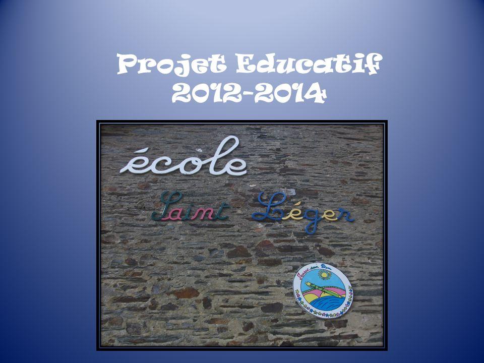 Projet Educatif 2012-2014