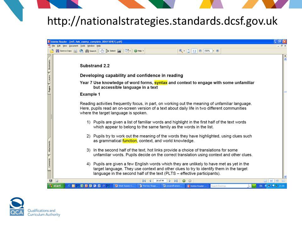 http://nationalstrategies.standards.dcsf.gov.uk