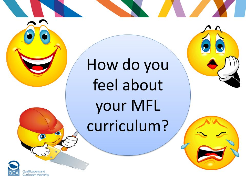 How do you feel about your MFL curriculum?