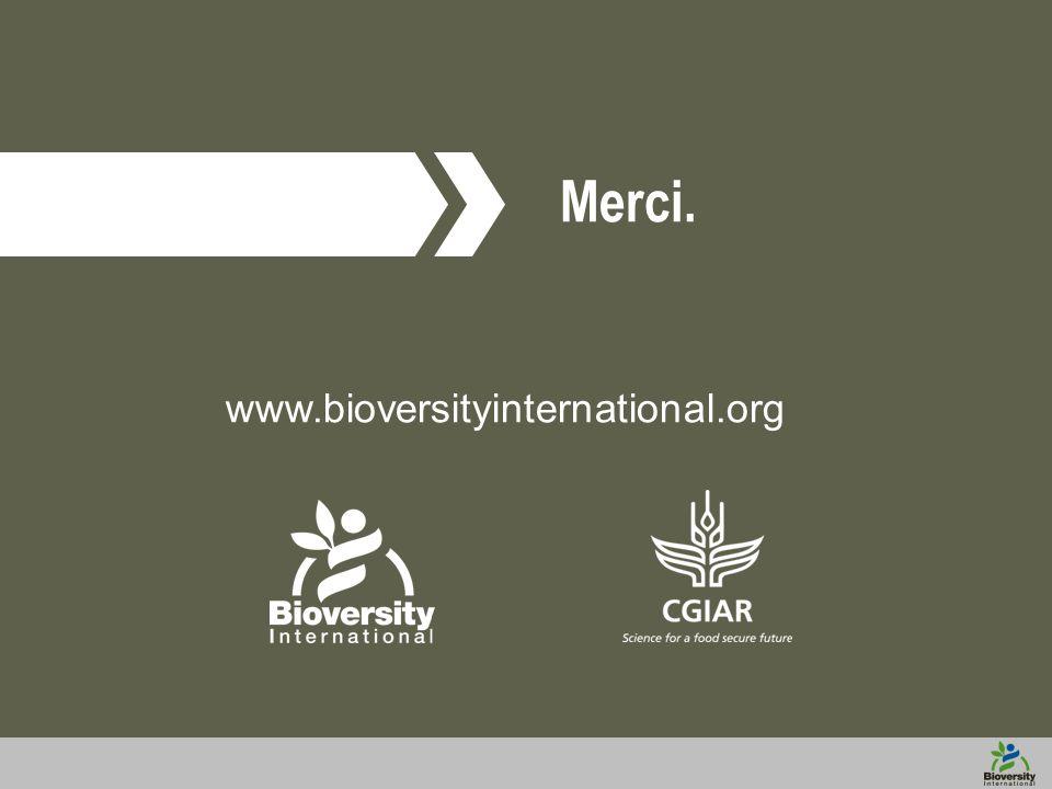 www.bioversityinternational.org Merci.