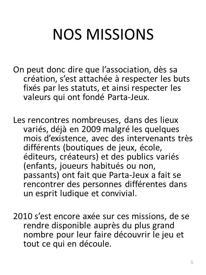 NOTRE ENVIRONNEMENT Les éditeurs : En 2009, seul un partenariat avec Asmodée a été signé, mais cest le précurseur à bien dautres qui le seront en 2010 .