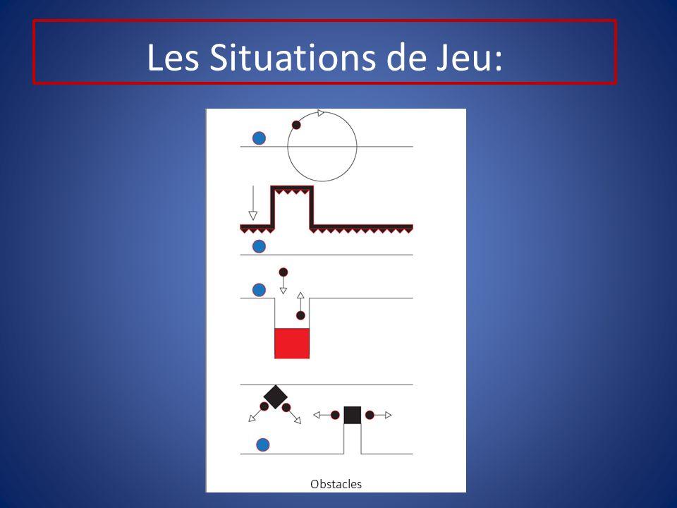 Les Situations de Jeu: Obstacles