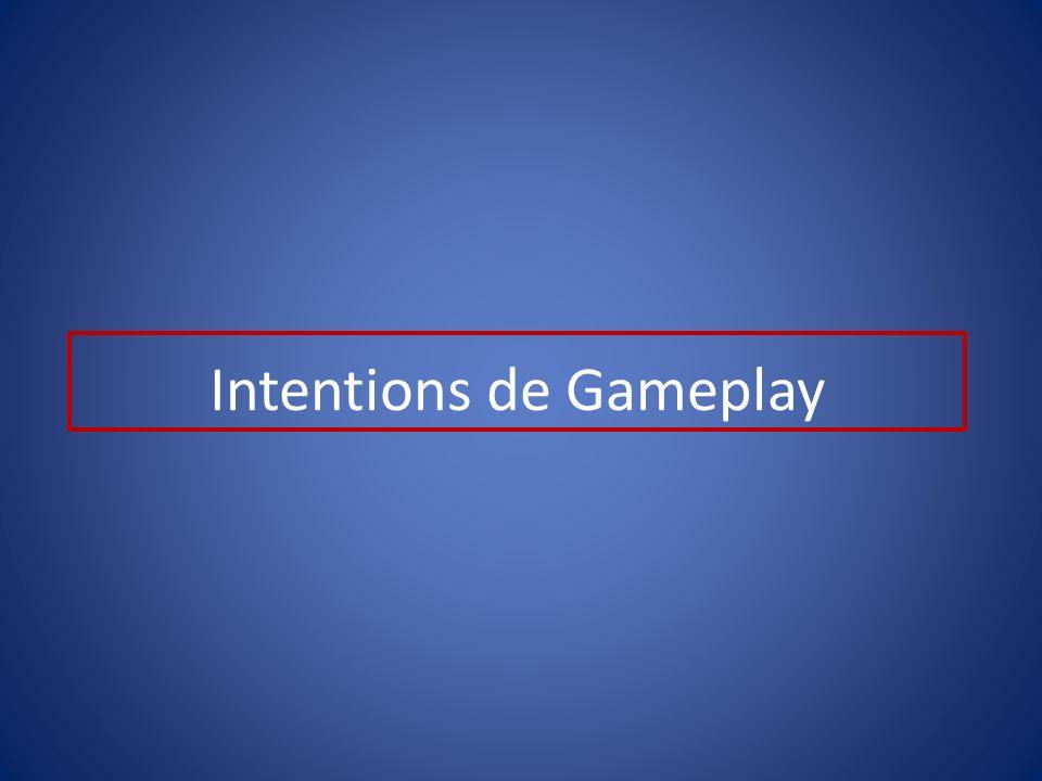 Intentions de Gameplay