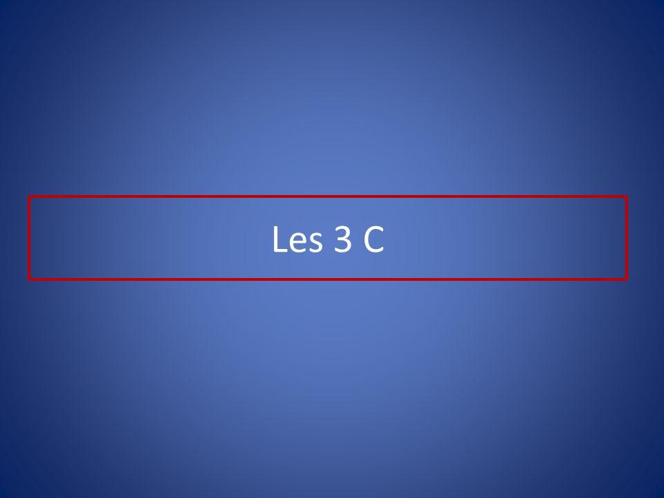 Les 3 C