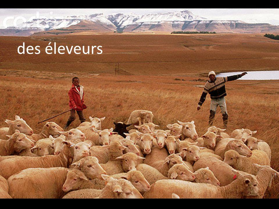 des éleveurs