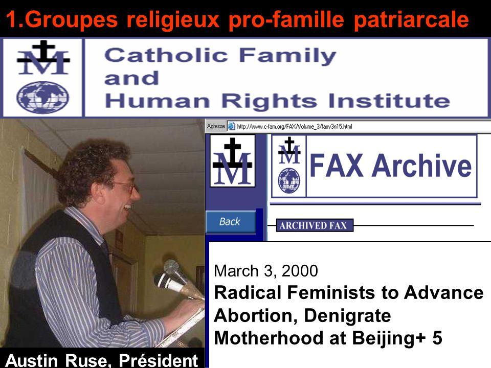 Quest-ce quun groupe de droite anti-féministe. 2.