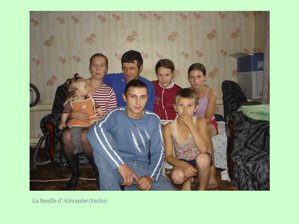 La famille dAlexander (Sacha)