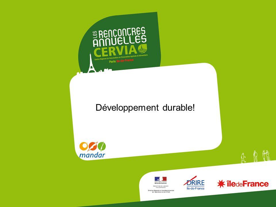Développement durable!