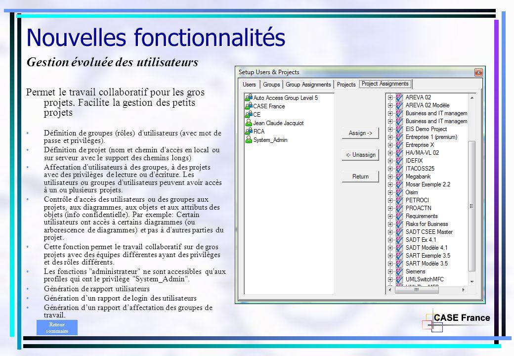 Envision 9.2 N° 1 des méta outils de modélisation et de gestion de linformation Fin Retour sommaire