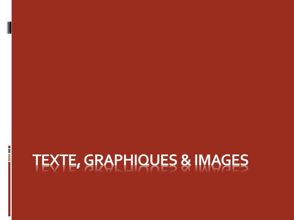 Texte supérieur Dans PowerPoint 2007, le texte bénéficie de nouvelles possibilités.