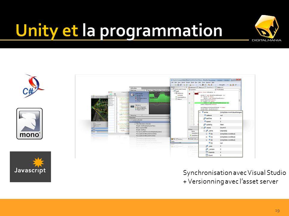 19 Synchronisation avec Visual Studio + Versionning avec lasset server