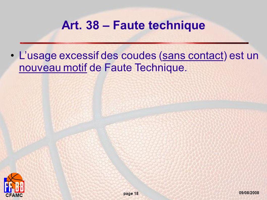 09/08/2008 CFAMC page 18 Art.