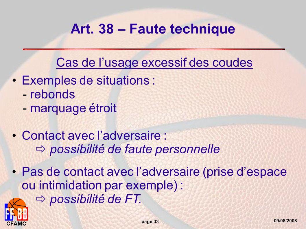 09/08/2008 CFAMC page 33 Art.