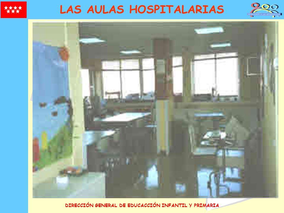 DIRECCIÓN GENERAL DE EDUCACCIÓN INFANTIL Y PRIMARIA LAS AULAS HOSPITALARIAS