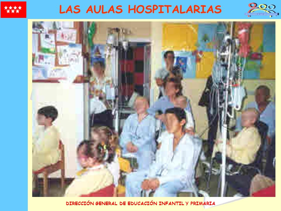DIRECCIÓN GENERAL DE EDUCACIÓN INFANTIL Y PRIMARIA LAS AULAS HOSPITALARIAS